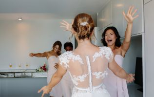 Here's some unusual wedding day advice you've probably never heard