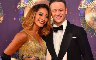 Karen Clifton's reaction to Kevin and Stacey winning Strictly last night was class