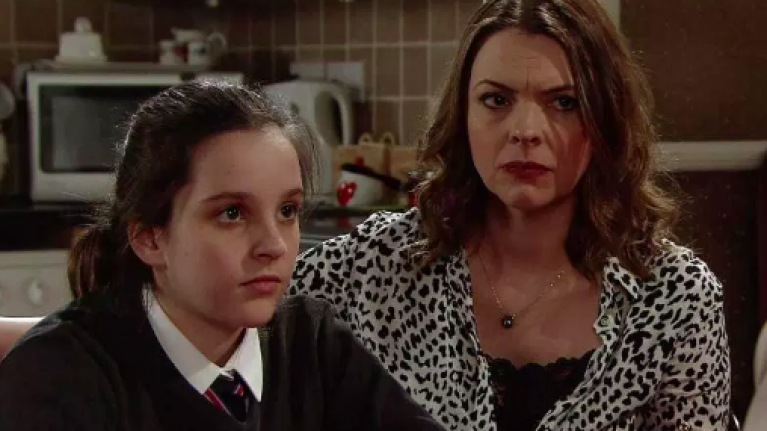 Corrie's Tyler to try and threaten Amy Barlow into having an abortion