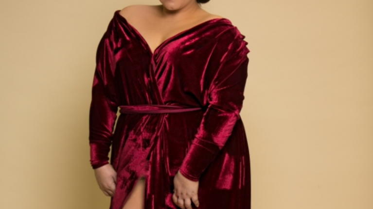 The designer velvet robes that suit EVERY body shape and won't break the bank