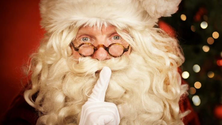 Apparently one in five women fancy Santa and yeah, alright