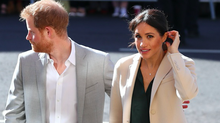 Prince Harry and Meghan Markle won't be spending Christmas morning together for one bizarre reason