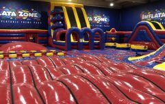 Ireland's first inflatable theme park has opened just in time for Christmas