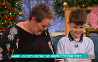 Grab the Kleenex because Anne Hegerty met the boy with autism who wrote her a letter today