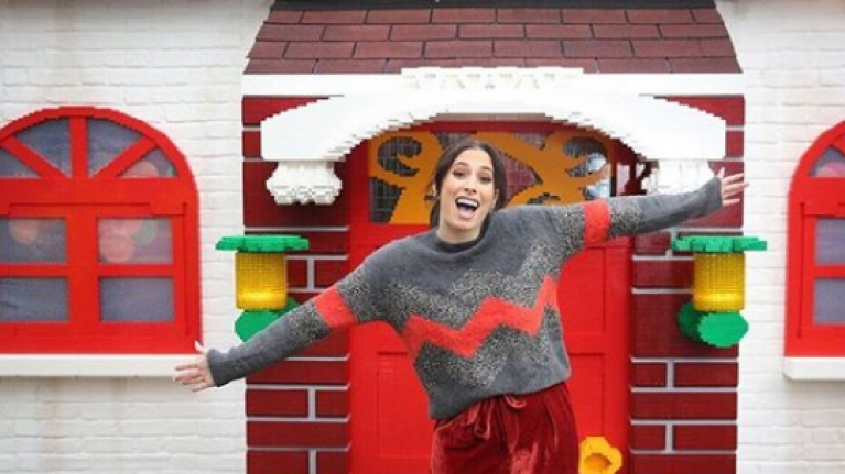 Stacey Solomon celebrates first Christmas with Joe Swash since moving in together