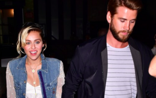 Liam Hemsworth took the CUTEST video of Miley Cyrus on their wedding day and ugh, our hearts