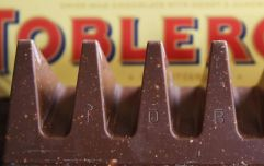 Have you ever noticed this on a Toblerone wrapper before?