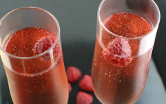 This raspberry vodka is on sale in Tesco and we're nabbing a bottle for New Years