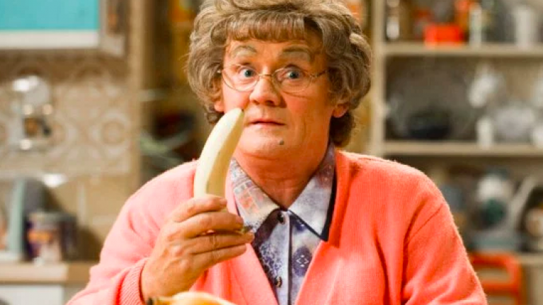 Brendan O'Carroll says the BBC wanted to cut the swearing from Mrs Brown's Boys