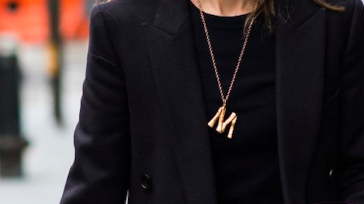 Penneys is now selling €3 dupes of THOSE Céline alphabet necklaces so, run