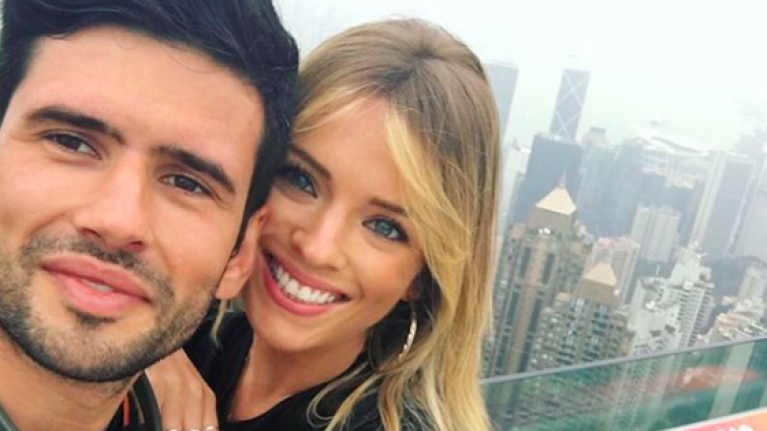GAA star Cian O'Sullivan and Danielle Byrne got married yesterday and LOOK at her dress