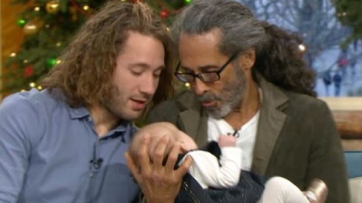 This Morning fans in tears as man meets his son and baby granddaughter for the first time