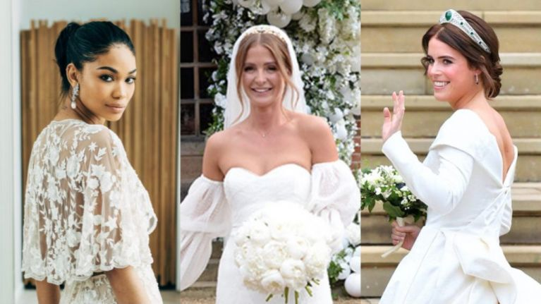 Our top 20 celebrity wedding dresses of 2018