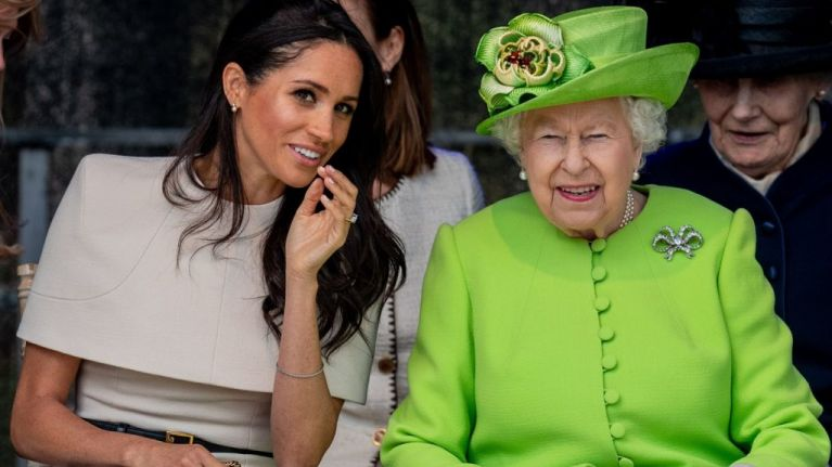 The Queen has banned Meghan Markle from wearing any of Princess Diana's jewellery