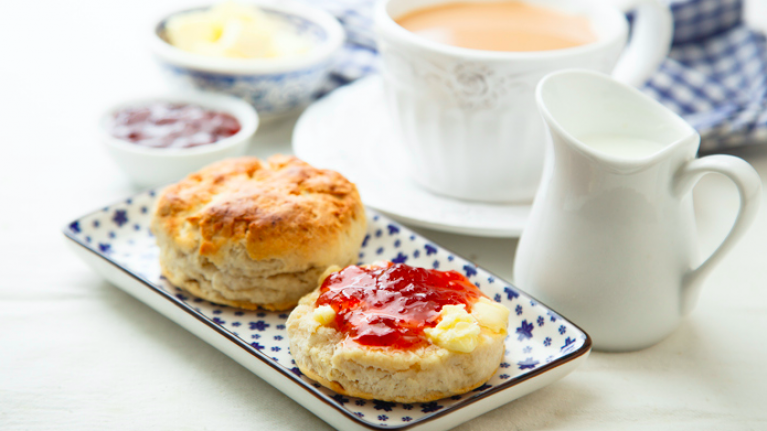 FSA says scones contain up to one third of your daily calories and we're not able