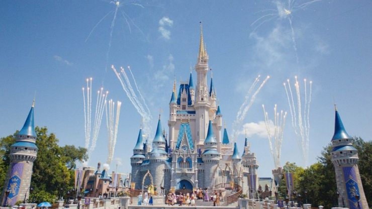 Here's a glimpse at what it is like to get married in Disneyland
