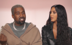 Kanye West gave his first confessional interview on KUWTK last night