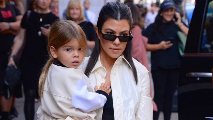 Kourtney Kardashian was going to call Reign something completely different