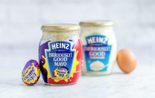Cadbury Creme Egg MAYONNAISE now exists and we're feeling traumatised