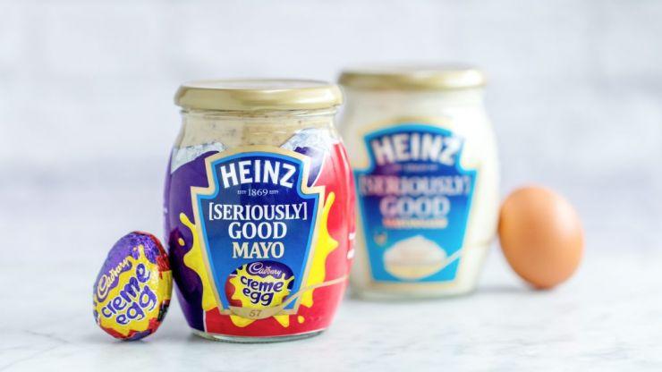 Cadbury Creme Egg MAYONNAISE now exists and we're feeling traumatised