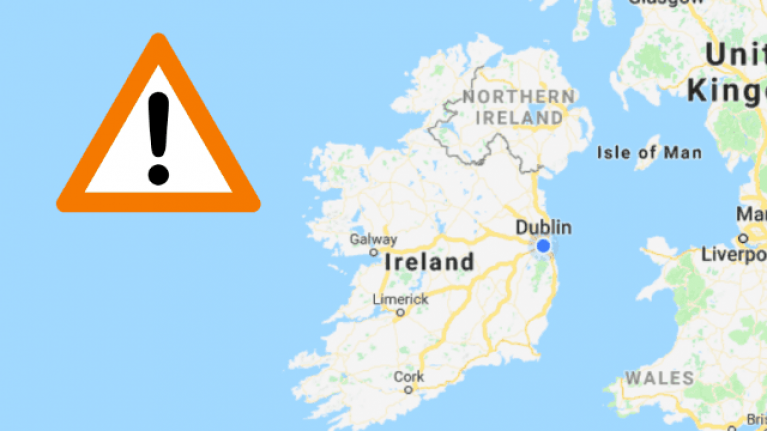 Met Éireann has issued new weather warnings for 20 counties