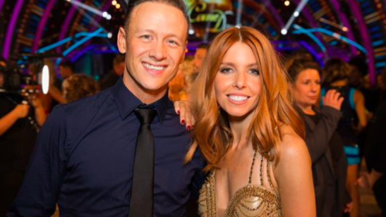 Stacey Dooley addresses claim that Kevin Clifton caused her split from ex Sam