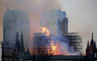 '850 years of history taken down in 5 minutes': Outpouring of emotion as Notre Dame spire collapses