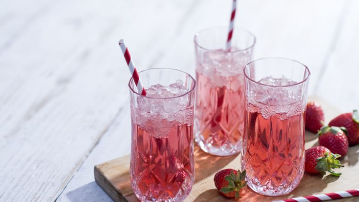 You can now get pink gin in a box for when you're feeling fancy - but not too fancy