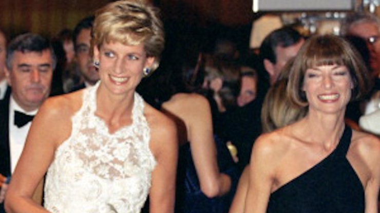Princess Diana had a very poignant conversation with Anna Wintour weeks before she died