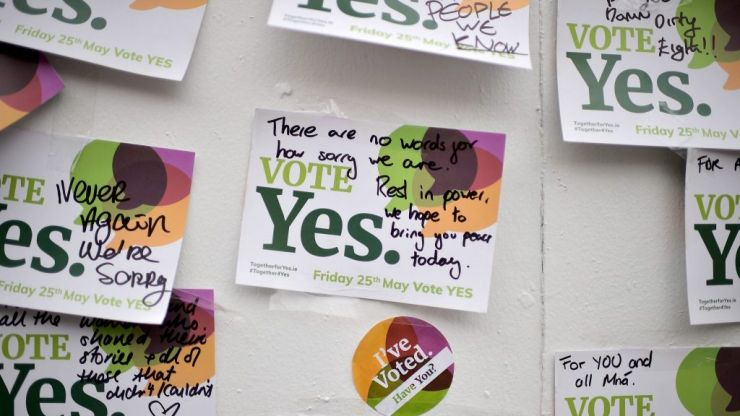 Together For Yes organisers honoured in TIME's 100 most influential people of 2018 list