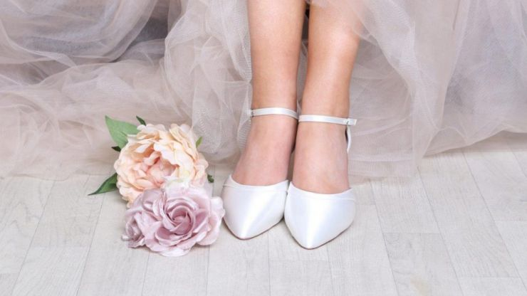 This Irish wedding accessory shop have unveiled a gorgeous (and affordable) range of bridal shoes