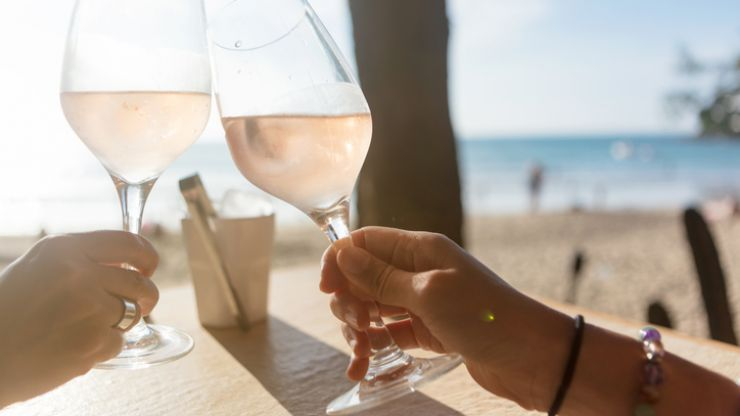 Gin-infused rosé is the drink you'll want to try when gorgeous summer evenings return
