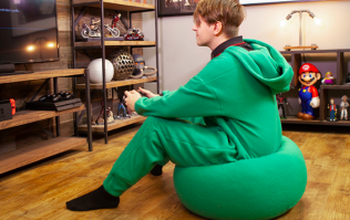 A bean bag onesie exists, and honestly it's the greatest thing we've ever seen