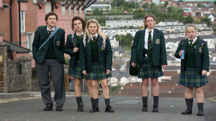 The entire first season ofDerry Girlshas arrived on Netflix in Ireland