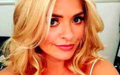 Holly Willoughby is wearing the most divine dress from & Other Stories today