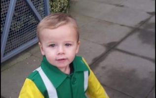 'He is smiling but can't speak or walk': Slow recovery for toddler in hit-and-run