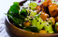 A colourful Buddha bowl that'll give you ALL the post-workout energy you need