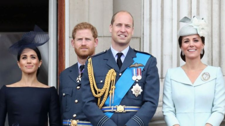Kate and William visited Meghan and Harry in Frogmore House