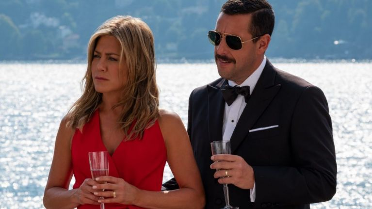 The first look at Netflix's hilarious new whodunit movie Murder Mystery is here