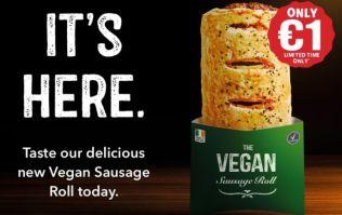 Applegreen are introducing Vegan Sausage Rolls in Ireland