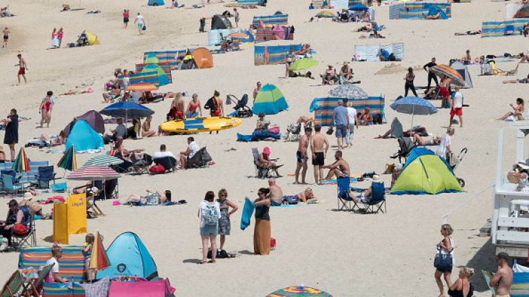 Met Éireann has called the UK Met Office's heatwave forecast 'nonsense'