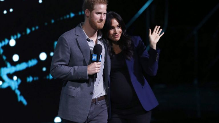 Meghan Markle and Prince Harry's baby has been given a hilarious nickname