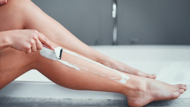 Why you should never use shower gel or conditioner to shave your legs