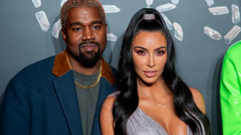 Kim Kardashian shares throwback pic of her and Kanye before they were married