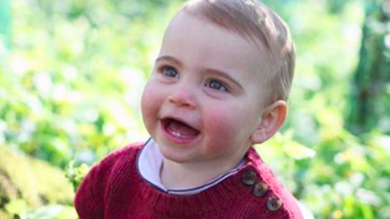 Kensington Palace release new photos of Prince Louis to mark his first birthday