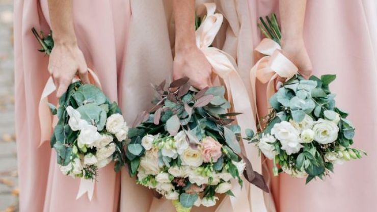This is the most popular colour for bridesmaid dresses in 2019, and we LOVE
