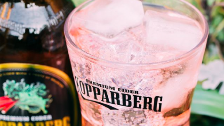 Koppaberg is releasing a strawberry and lime GIN just in time for the sweet, sweet summer