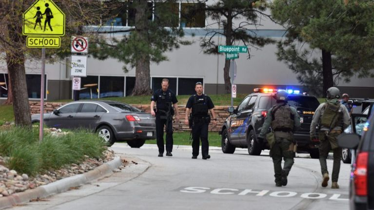 School shooting in the States leaves one student dead and eight more injured