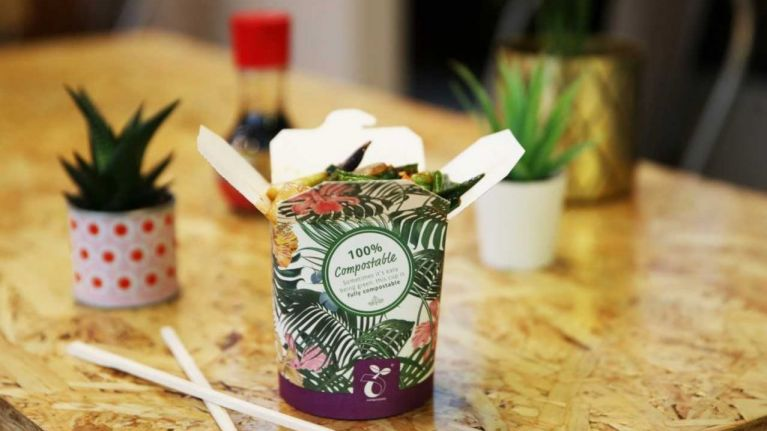 Camile Thai has launched totally compostable packaging, and we're