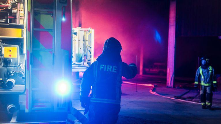 Gardaí arrest on-duty fireman after he fails a roadside breath test